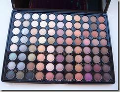 Paleta de Sombras com 88 Cores Neutras - Matte e Shimmer