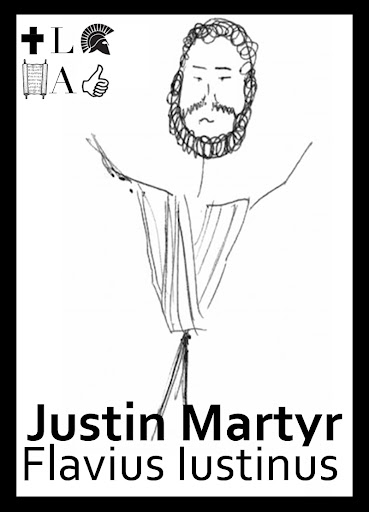 Church History Trading Cards: Justin Martyr | St. Eutychus