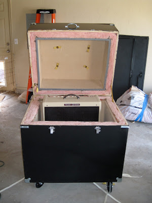 Isolation cabinet