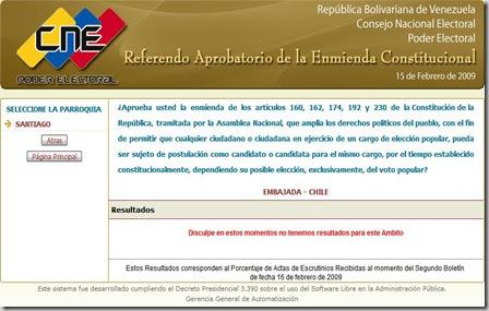 referendo enmienda chile