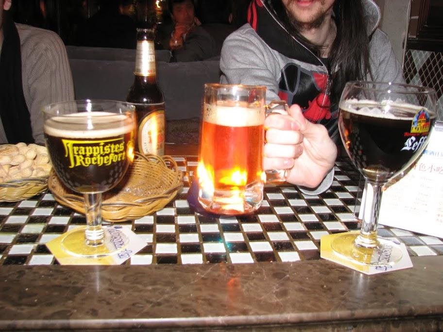 Quelques bières.