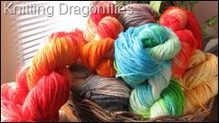 Knitting Dragonflies