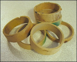 Spools from sold ribbons