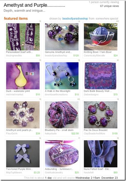 Amethyst and Purple