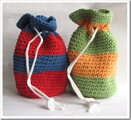 Quick Easy Crochet Gift Bags Tamdolls Workspace