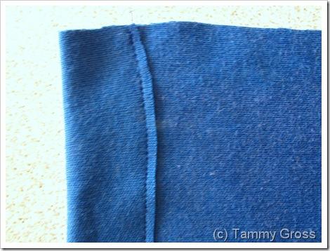 Tamdoll Drawstring Bag Sewing Tutorial 2