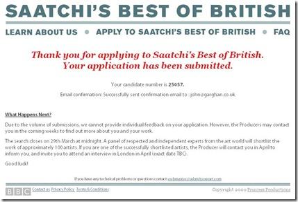 Saatchis Best of British Thanks