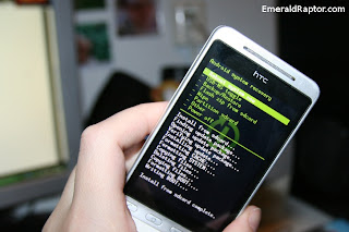 Rooter HTC Hero med Android
