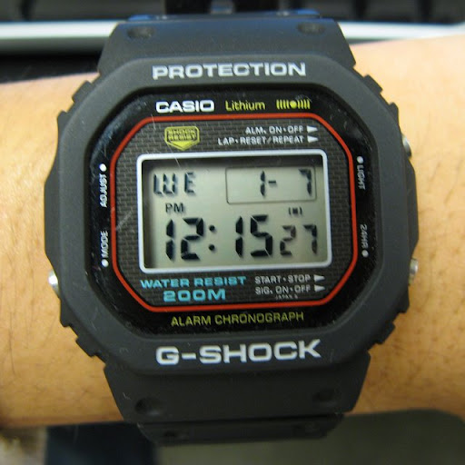 casio g shock dw 5000 pocket calculator show forum