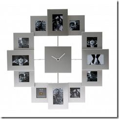horloge-cadres-photos