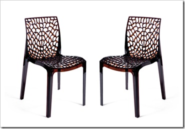 chaise-spider-marron-translucide