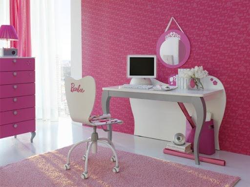 Chambre Rose Et Blanche