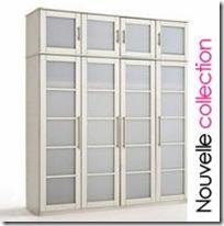 armoire blanche