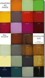 couleurs - table basse puzzle