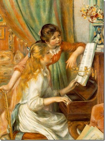 Girls at the Piano -1892-