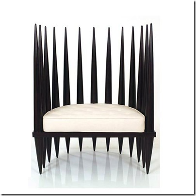 chaise style africain
