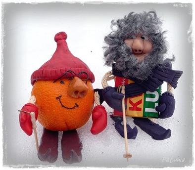 Herr appelsin og herr Kvikklunsj
