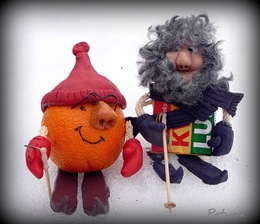 Herr Appelsin og Alfred Kvikklunsj