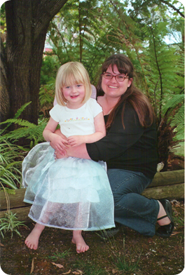 savannahand me 5th bday