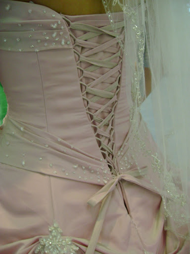 Corset Back Wedding Dress 13