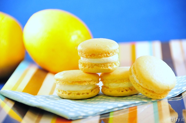 uTry.it: Meyer Lemons Macarons with Limoncello Buttercream