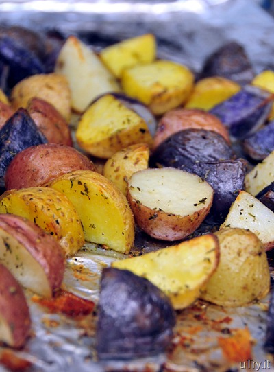 Roasted Potatoes with Herbs de Provence