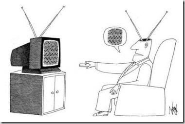 A alegoria da caverna e a televisão
