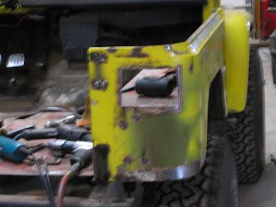 Tire Carrier Rust