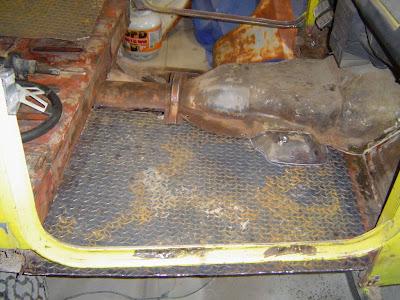 FJ40 Diamond Plate Floorpan