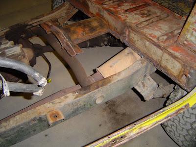 FJ40 Rusted Floor
