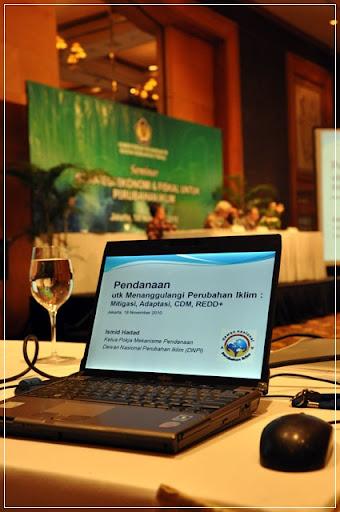 seminar perubahan iklim