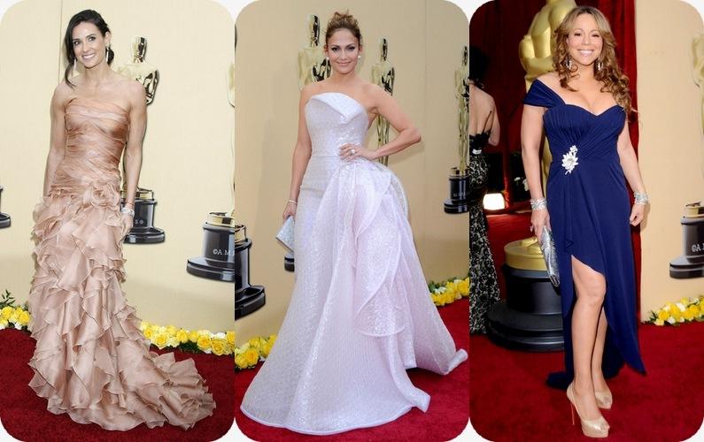 Oscar Demi, JLo y Mariah