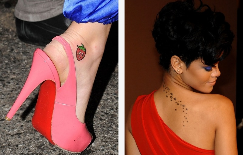 Tattoos katyrihanna