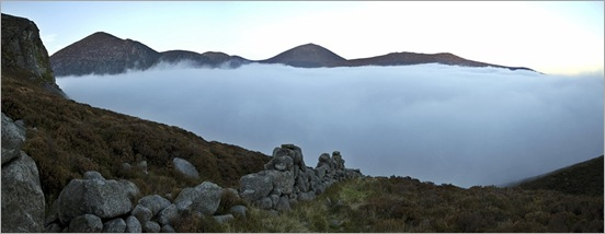 Mournes cloud inversion