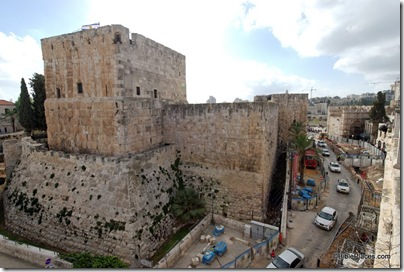 Jaffa Gate area with excavations, tb010310770