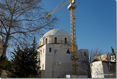 Hurvah synagogue under construction, tb010910256ddd