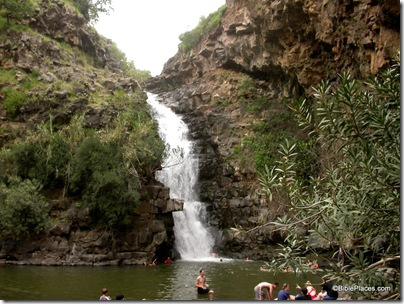 Nahal Yehudiyeh waterfall and pool, tb040703201