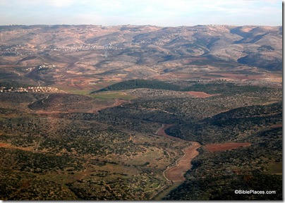 Adullam area aerial from west, tb010703651