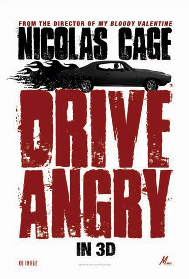 Drive Angry 3D, movie, poster