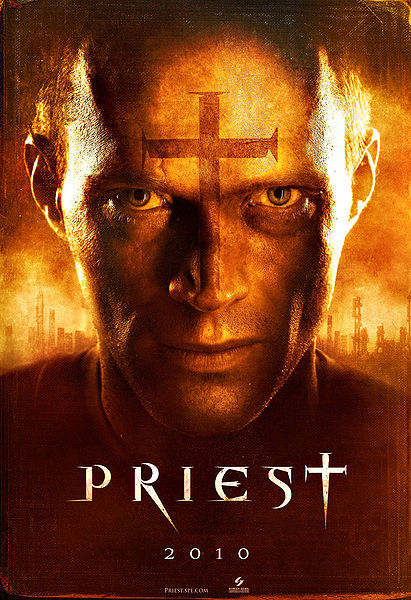 Priest, movie, poster