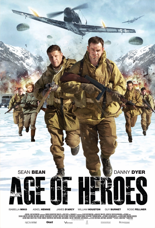 Age of Heroes, movie, poster