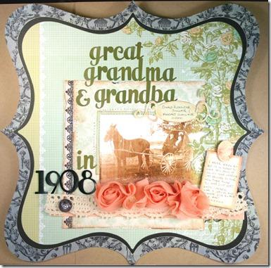 Great Grandma and Grandpa