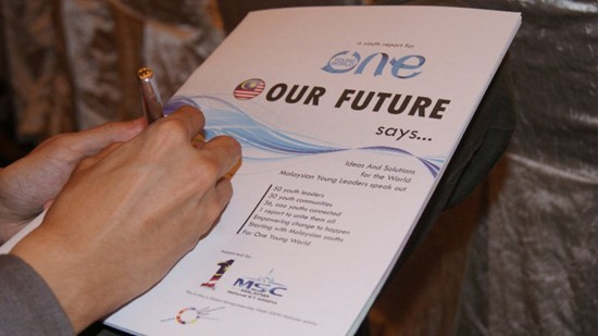 One Young World 'Our Future Says' Report