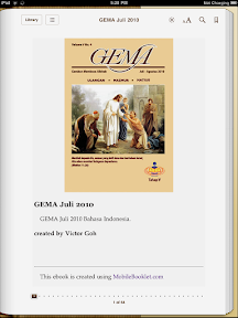 GEMA Daily Devotional on the iPad