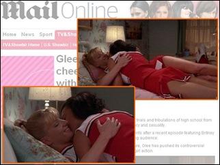 Glee lesbicas