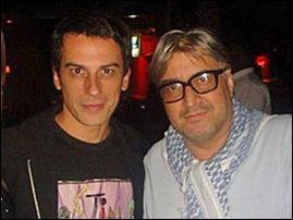 Marco Audino e Sérgio Mattos
