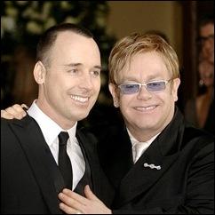 David Furnish e Elton John
