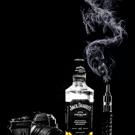Jack & Vape by Reza Roedjito - Artistic Objects Still Life