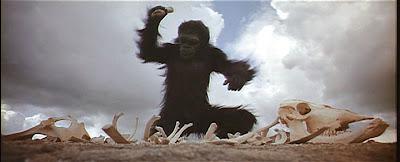 2001 monkey smashing bone