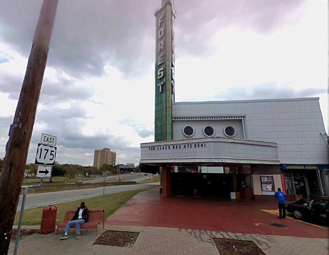 google streetview forest theater